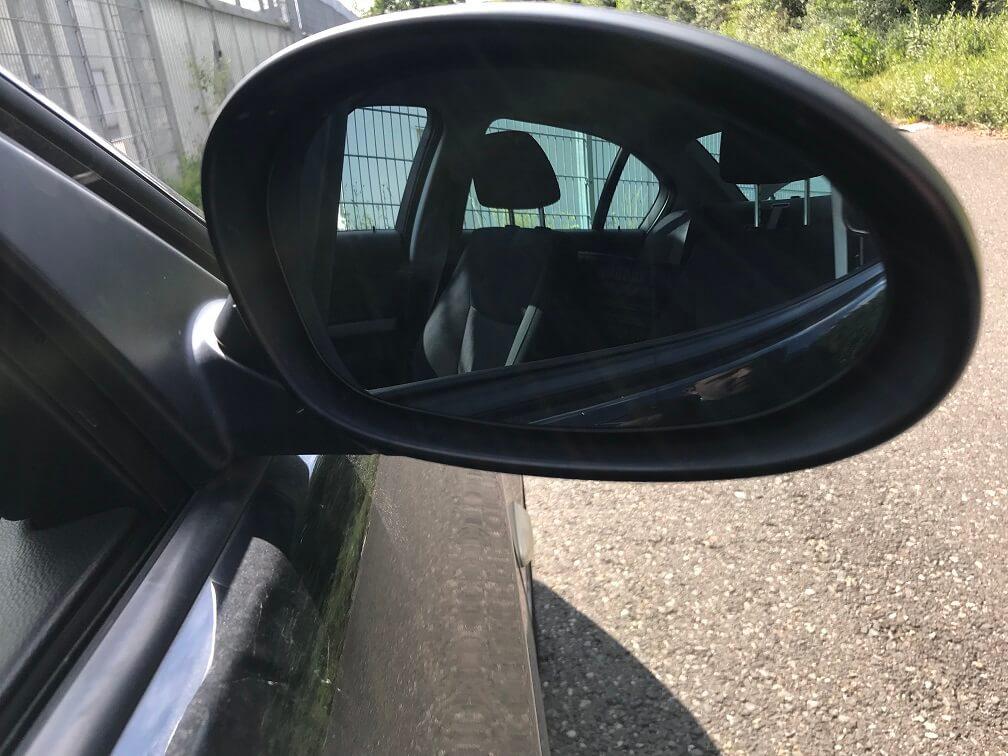 Bild des neu eingebauten Spiegels