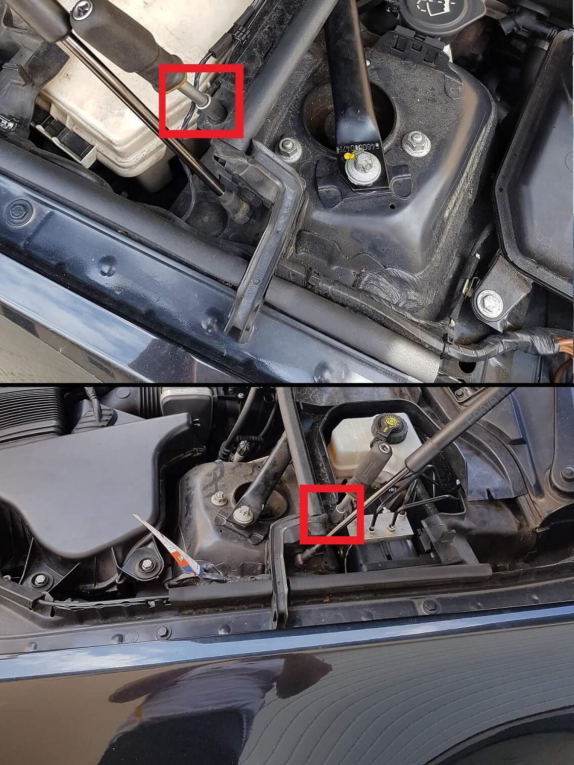 BMW E90 Abdeckungen entfernen